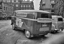 Reklamebil for Fyns Stiftstidende (1954)