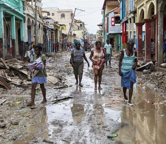 Orkanen Matthew ramte Haiti tirsdag den 6. oktober (foto: Logan Abassi UN/MINUSTAH)