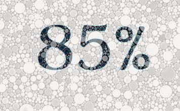 85 procent
