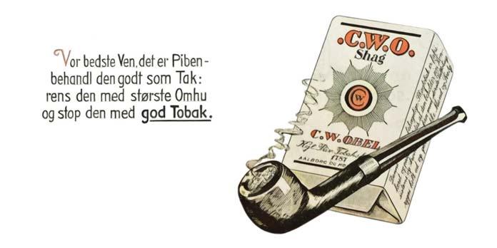 Vores bedste, det er Piben – C.W.O. Shag