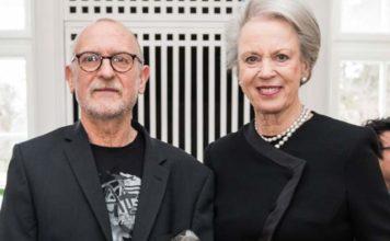 Len Nossell og H.K.H. Prinsesse Benedikte