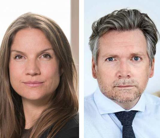 Marie Nipper (foto: David Stjernholm) og Mads Roke Clausen (foto: Camilla Hey)