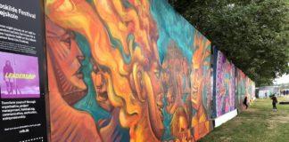 Roskilde Festival – graffitivæg