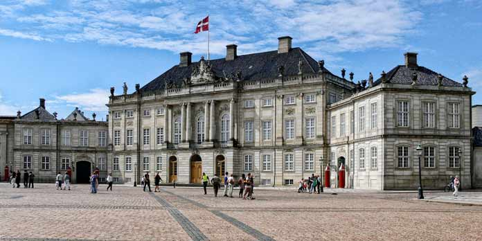 Amalienborg (foto: Wolfgang Sauber)