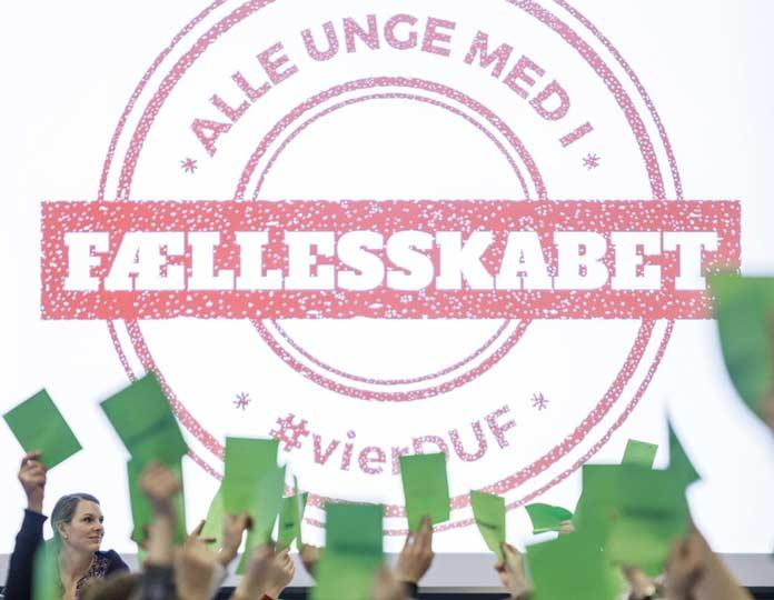 """DUF – """"Alle unge med i fællesskabet (foto: Morten Rode)"""