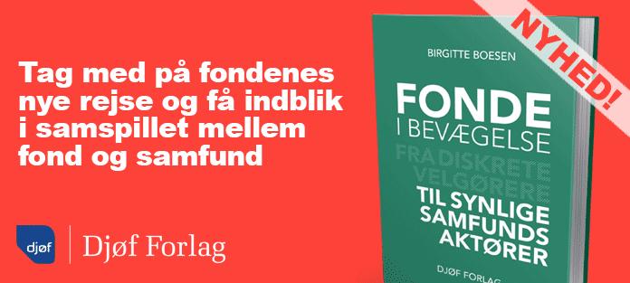 Fonde i bevægelse – Birgitte Boesen (Djøf Forlag)
