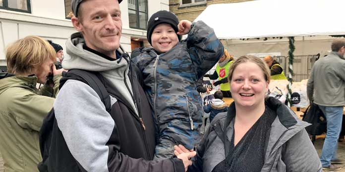 Julehjælp (foto: Frelsens Hær)