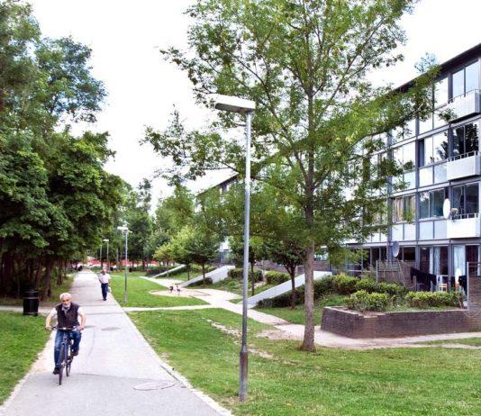 Almen boligbebyggelse, Gellerupparken i Aarhus (foto Leif Tuxen)