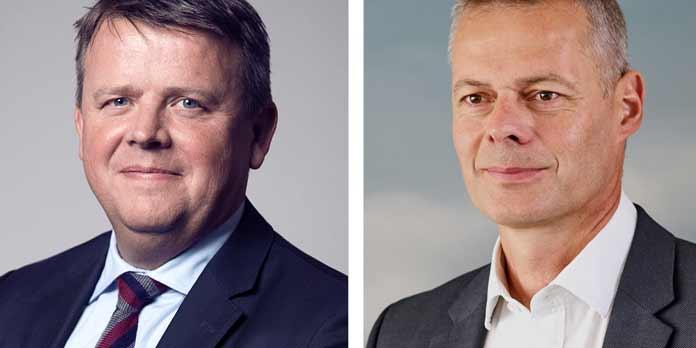Martin Fruergaard og Carsten Jensen