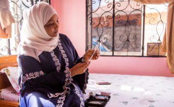 Zeana Masoud Said, type1-NCD, Tanzania (foto: Sala Lewis)