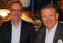 Christian Schønau og Poul Due Jensen