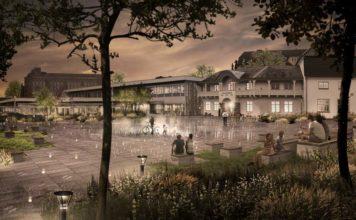 Genforeningspark (illustration: Team Weile/Aabenraa Kommune)