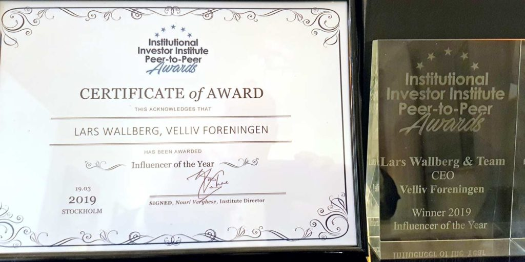Velliv – Influencer of the Year – 2019