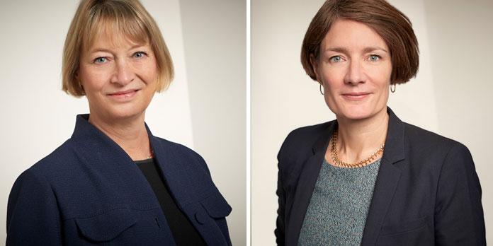 Karin Jexner Hamberg og Anja Boisen