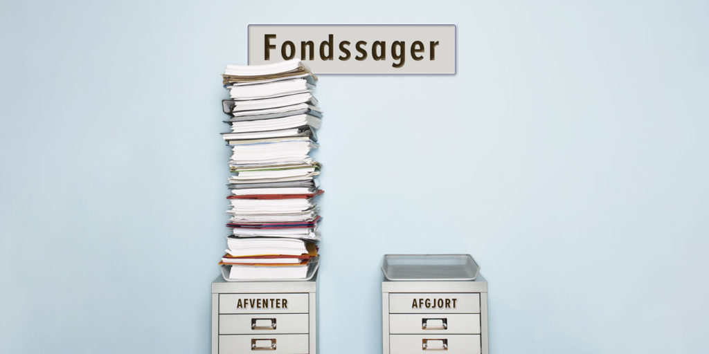 Fondssager – afventer/afgjort