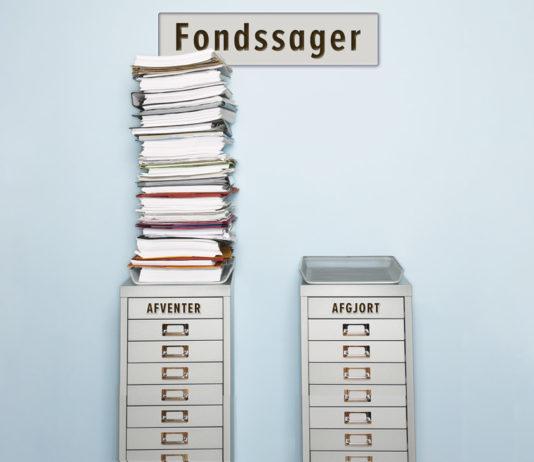 Fondssager – afventer/afgjort