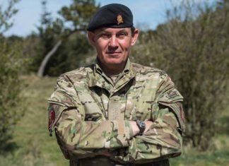 oberst Nicolas T. Veicherts, chef for Hærens Officersskole på Forsvarsakademiet
