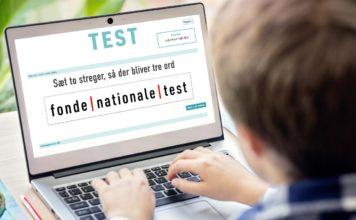 Nationale test – sæt to streger