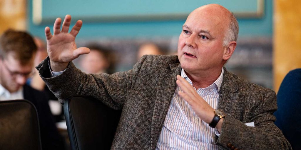 Thomas Bjørnholm, Videnskabernes Selskab – Årsmøde 2019 (foto Lars Svankjær)