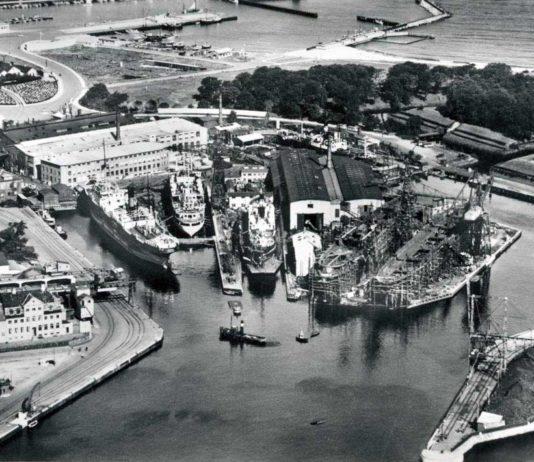 Helsingør Skibsværft i 1938