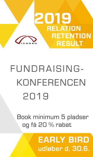 Annonce: ISOBRO – Fundraisingkonference 2019