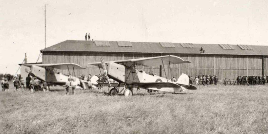Zeppelinbasens flyhangar i Tønder