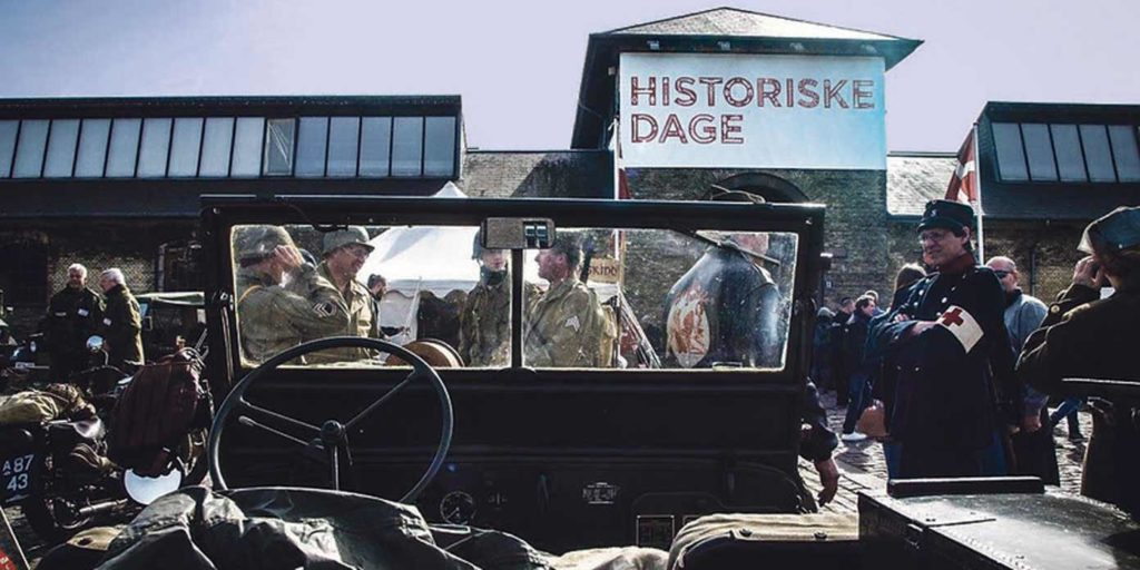 'Historiske Dage' i Øksnehallen (foto: Nanna Rong Bentsen).