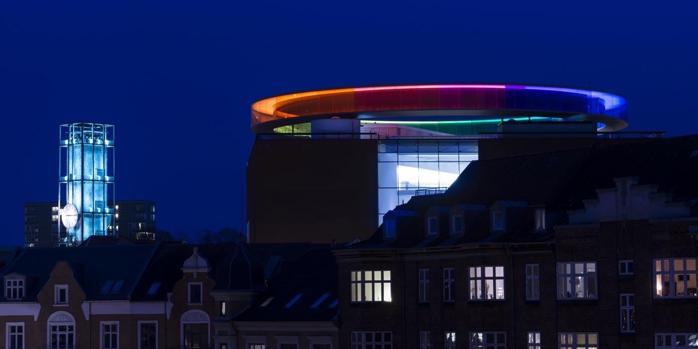 Aarhus by night