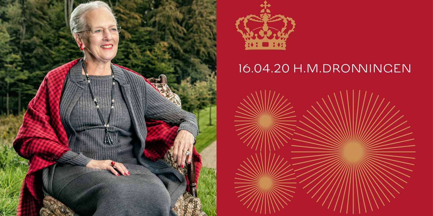 Dronning Margrethe (foto: Per Morten Abrahamsen)