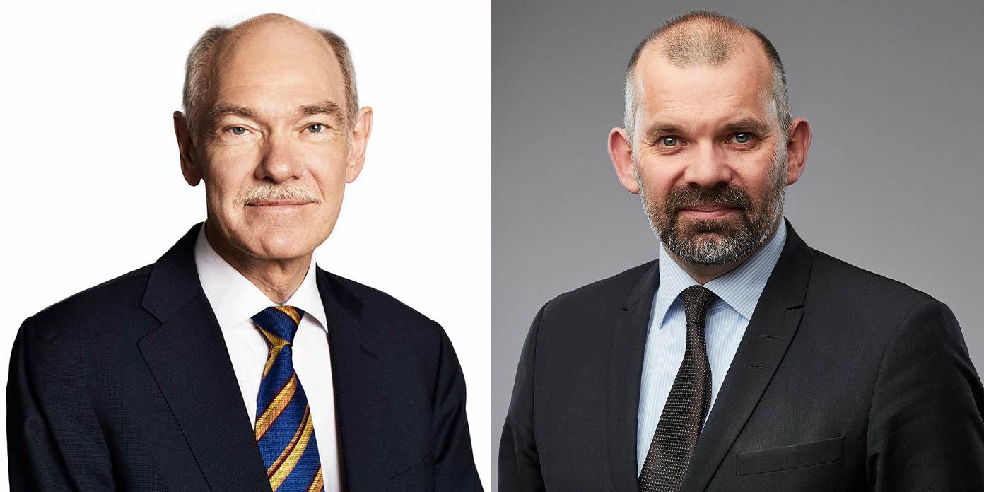 Jørgen Huno Rasmussen og Kim Nøhr Skibsted