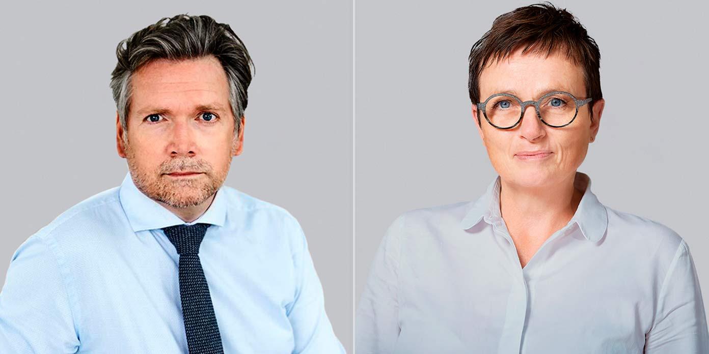 Mads Roke Clausen og Pernille Due (foto: Liljeborgfonden)