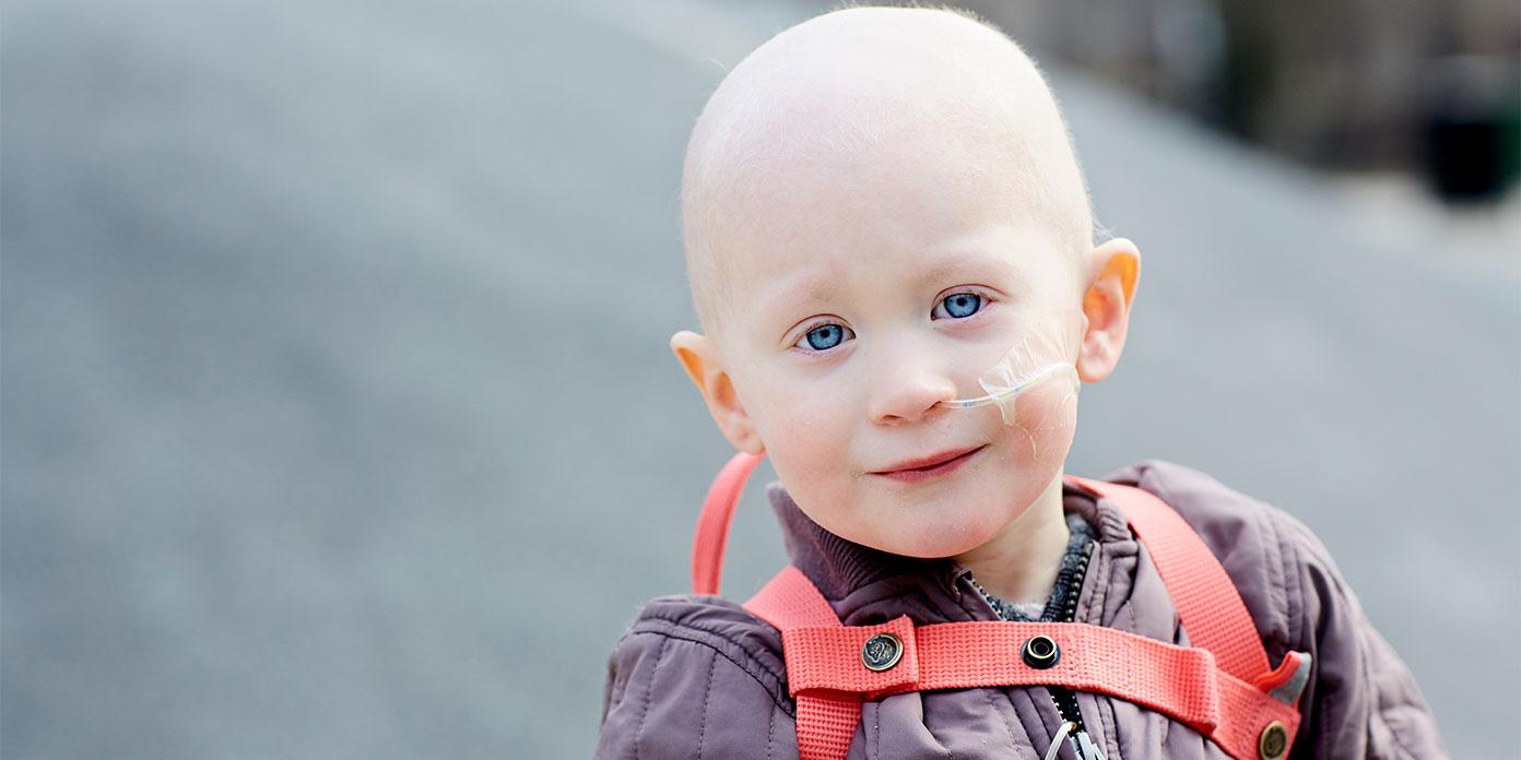 Elin (foto: Børnecancerfonden)
