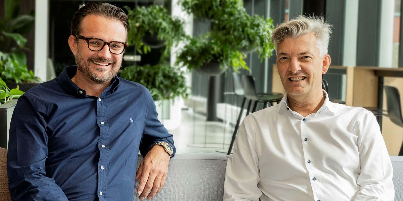 Ulrik Ahrendt-Jensen og Allan Polack (foto: OK-Fonden)