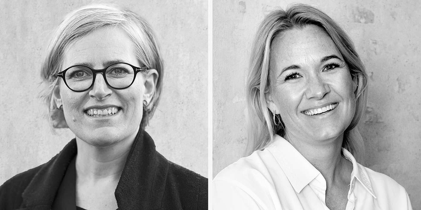 Anita Sørensen og Lise Rønfeldt Bagger