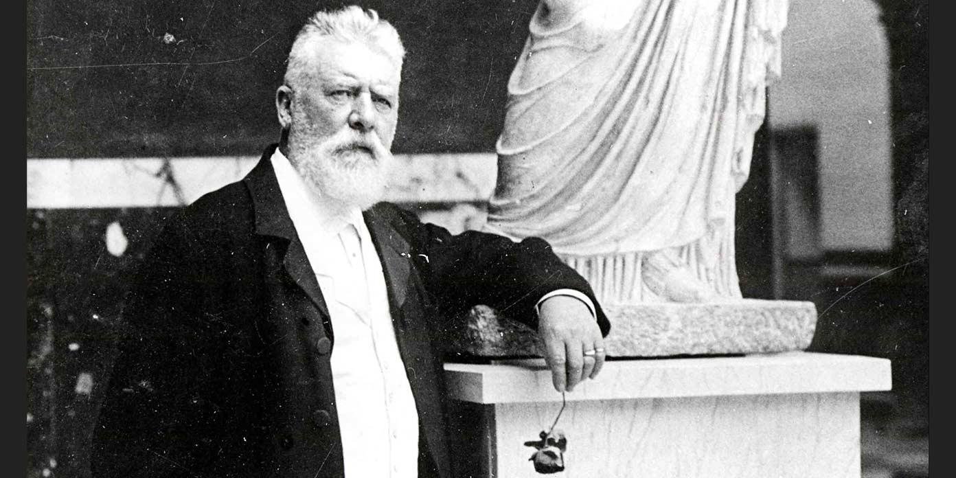 Carl Jacobsen, 1910 (foto: Ny Carlsberg Glyptotek)
