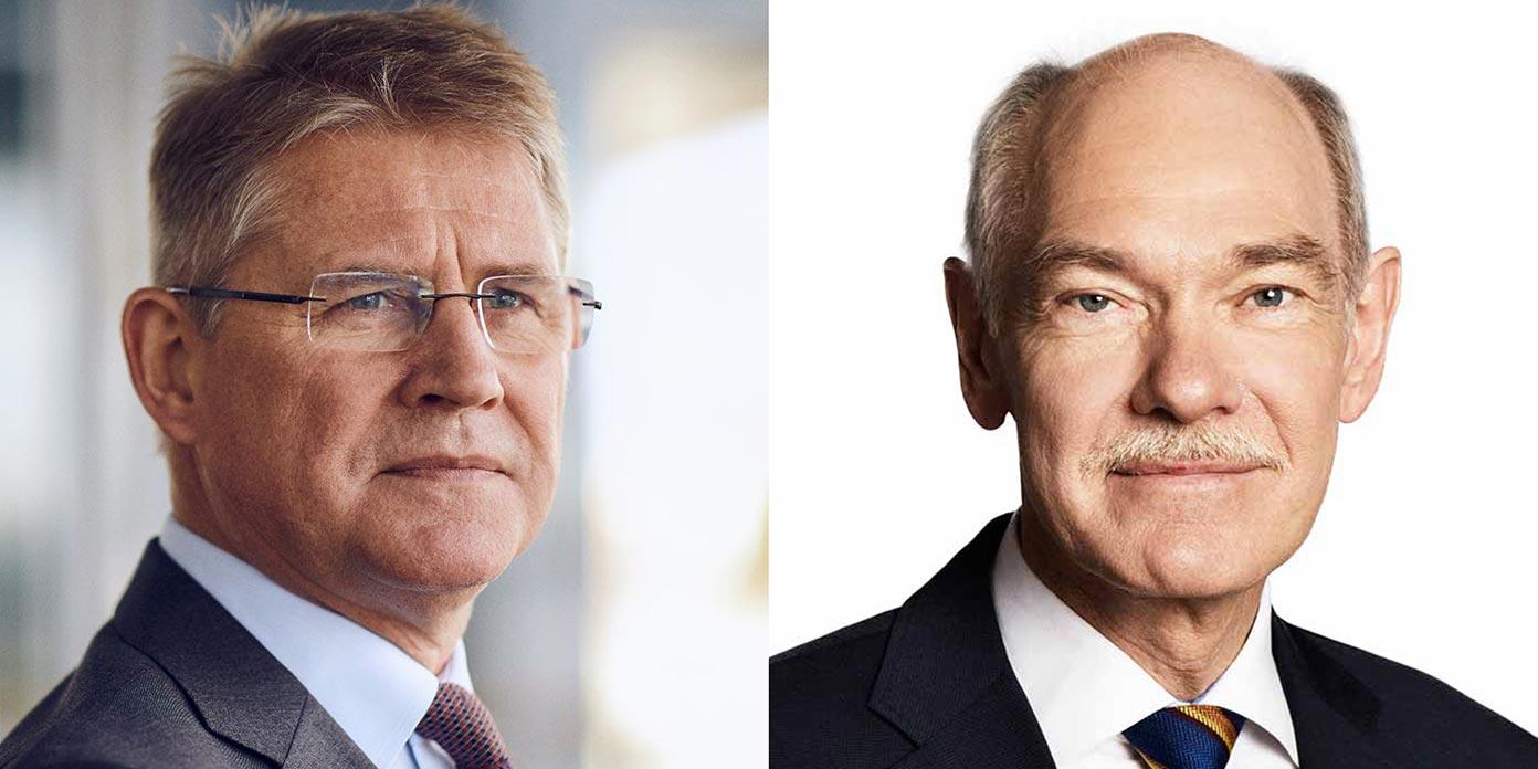Lars Rebien Sørensen og Jørgen Huno Rasmussen