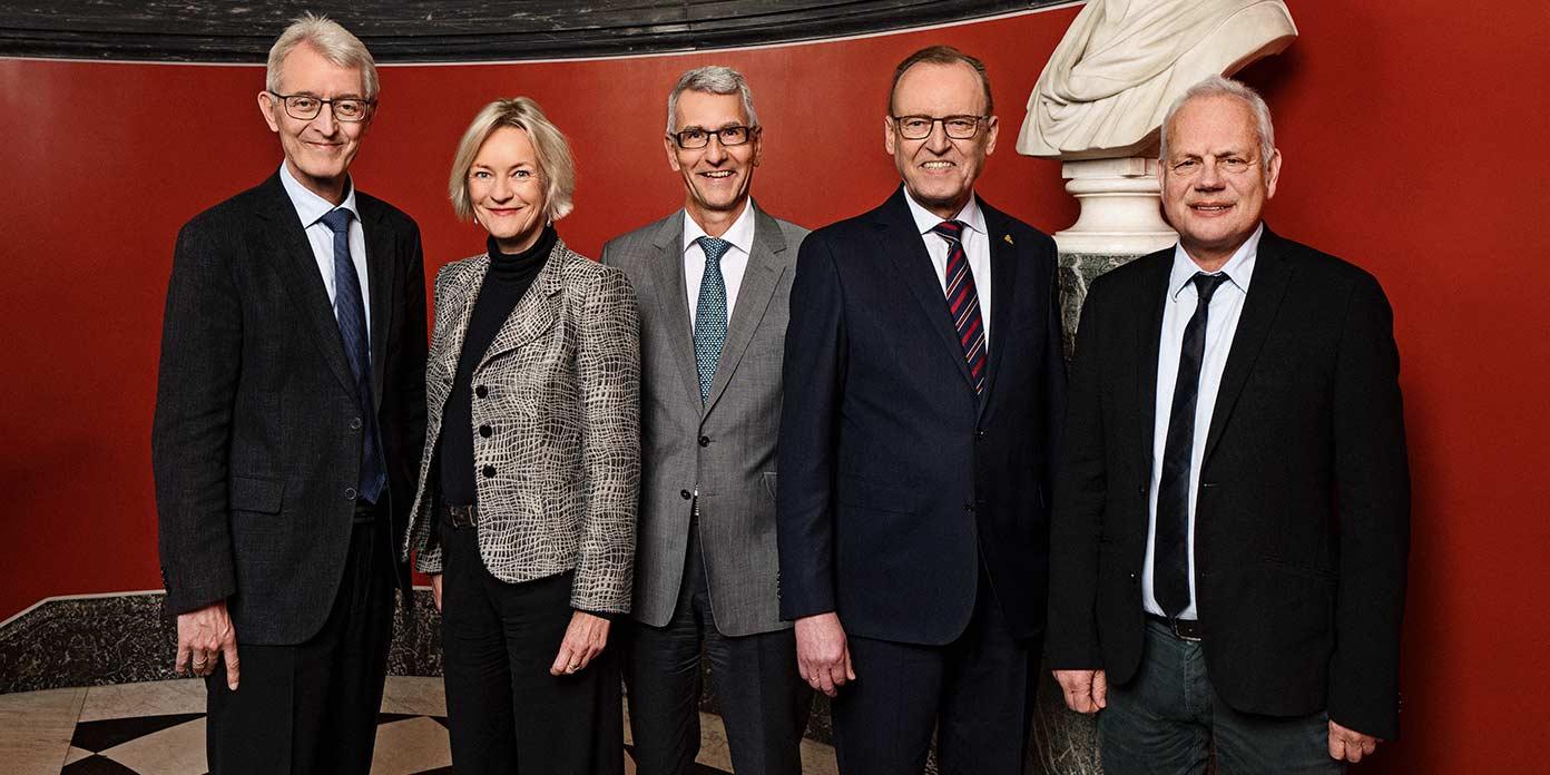 Carlsbergfondets bestyrelse (foto: Carlsbergfondet)
