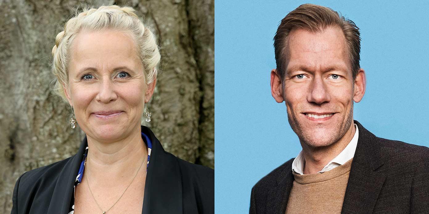 Cathrine Riegels Gudbergsen og Heino Knudsen (foto: Tryghedsgruppen)