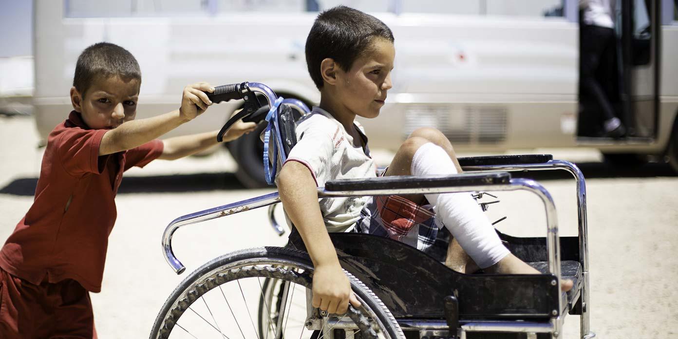 Internt fordrevne, Syrien (foto: Mari Aftret Mortvedt / Røde Kors)