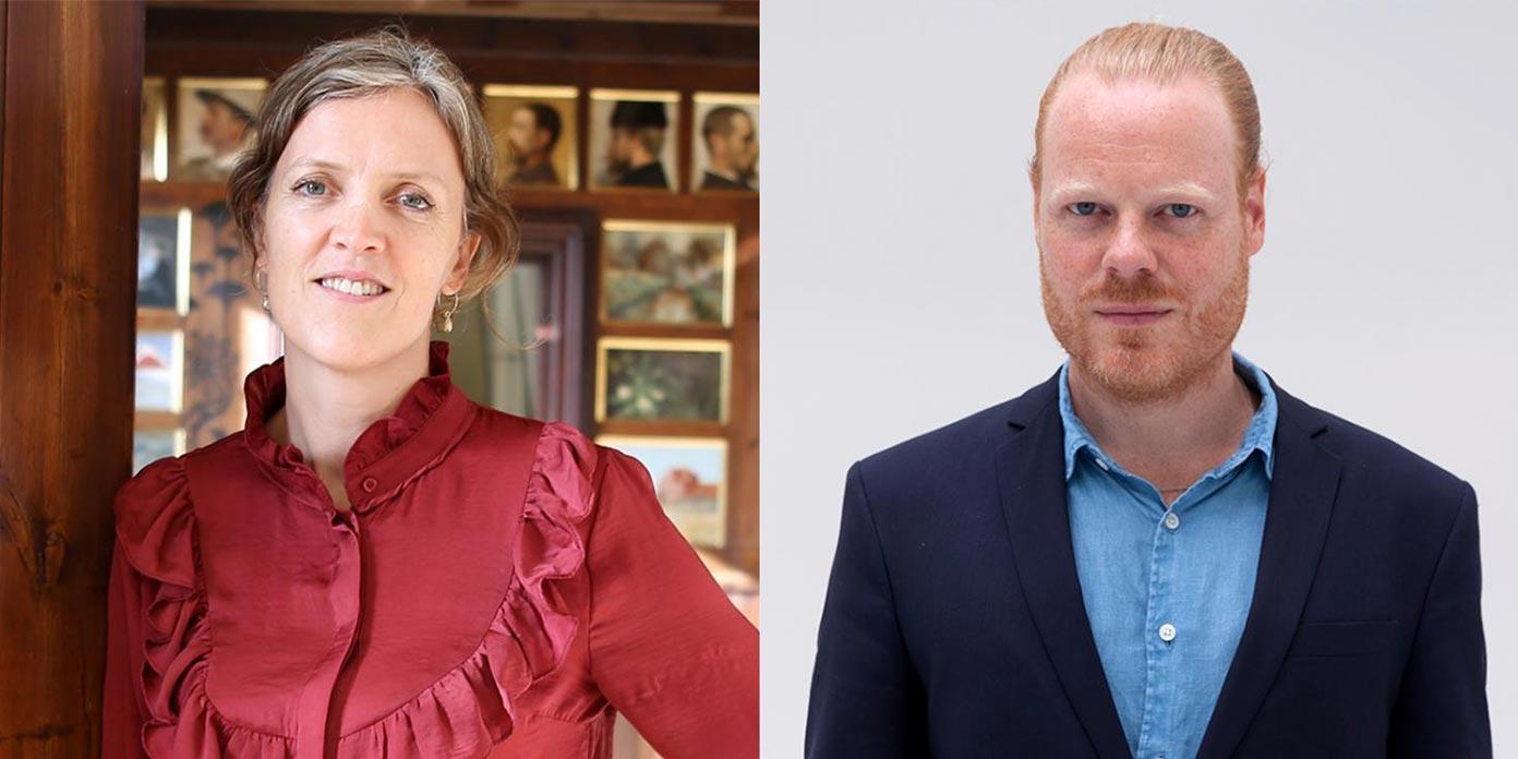 Lisette Vind Ebbesen og Toke Lykkeberg (foto: Ny Carlsbergfondet)